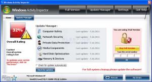 Windows Activity Inspector - Virus getarnt als Schutzprogramm