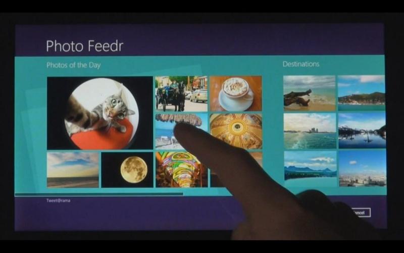 Windows 8 Fotoview