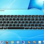 Windows 7 bringt standardmässig eine eigene Tastatur mit