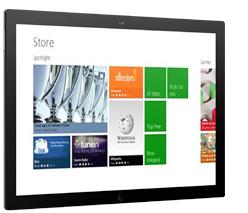 Windows 8 mit neuer Oberfläche