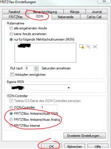 faxen mit der Fritz.Box