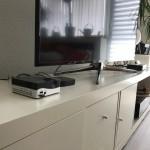 Wihnzimmer mit Mini-PC