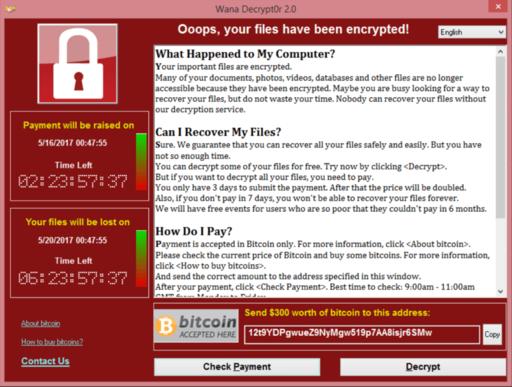 """WannaCry Attake """"Weltweiter Cyberangriff mit Folgen"""""""