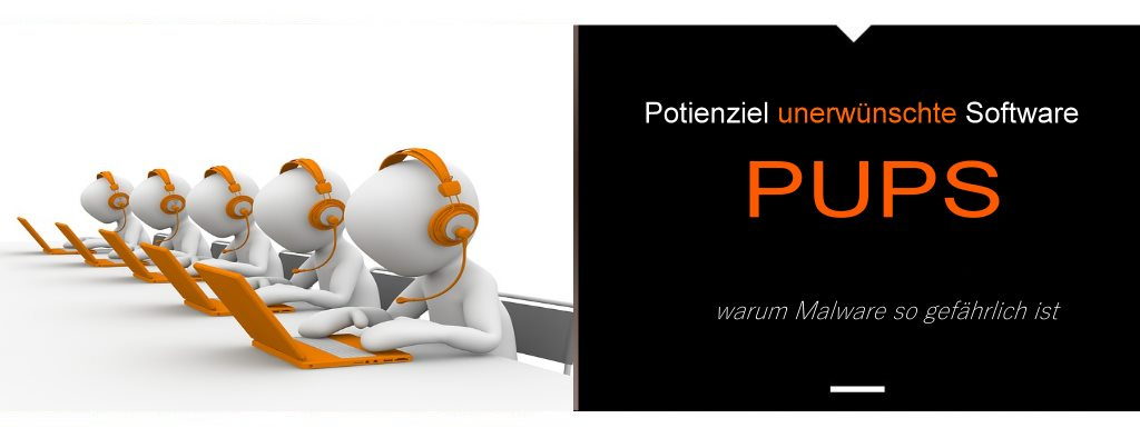 PuPs unerwünschte Software