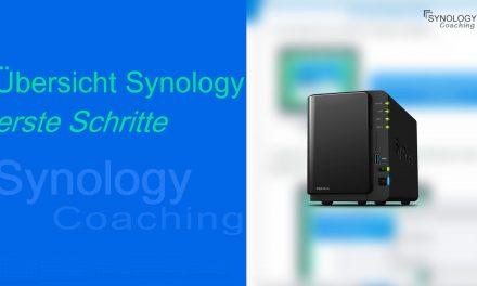 Synology Diskstation – Erste Schritte