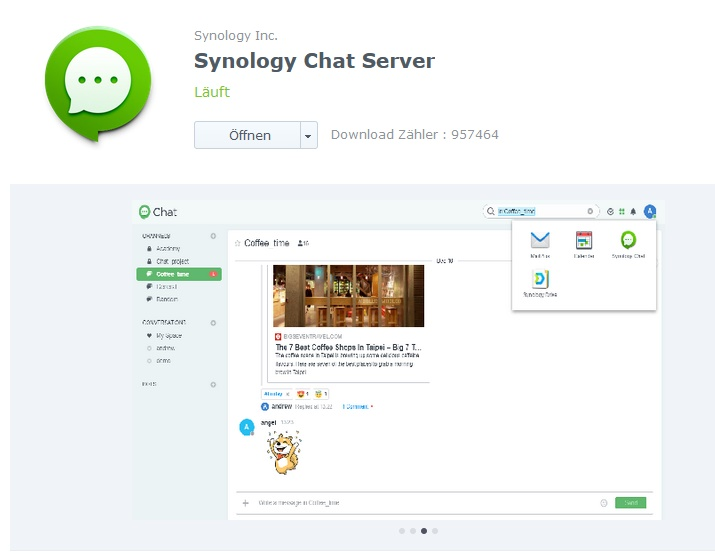 Synology Chat Server